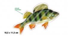 Rybárska samolepka OSTRIEŽ 1 P