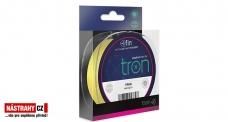 FIN TRON fluo žľtá pletená šnúra 0,05 a 0,06 mm