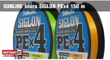 SUNLINE splietaná šnúra SIGLON PEx4 150 m