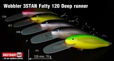 Wobbler 3STAN Fatty 120 Deep runner
